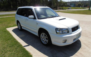 SUBARU FORESTER CROSS SPORT 2004 WHITE # 2377
